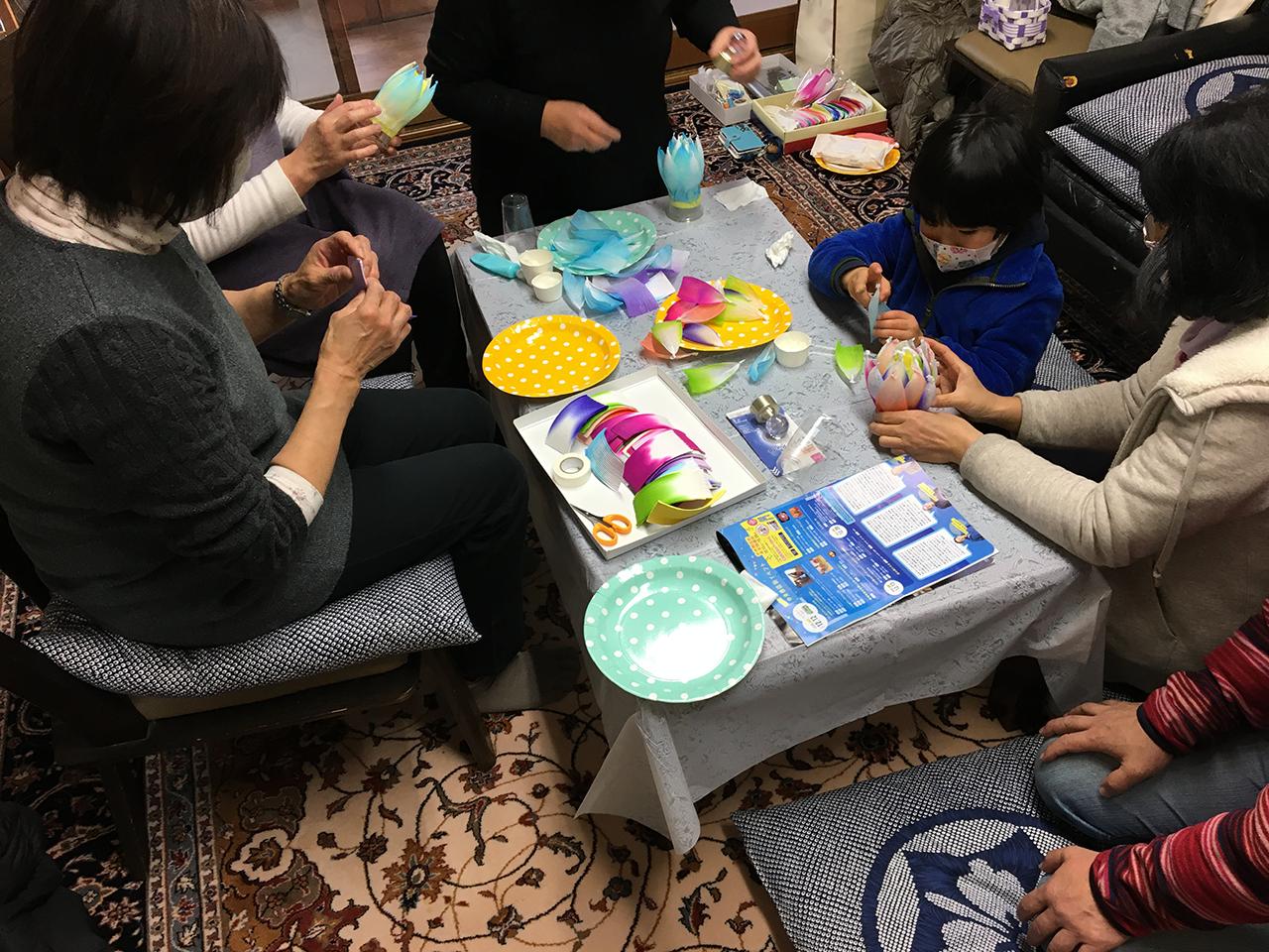 28/ハス花ワークショップ/12月12日